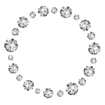 Diamond frame
