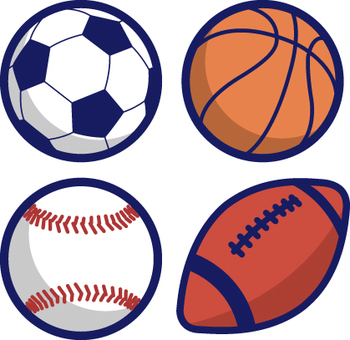 Variety of balls
