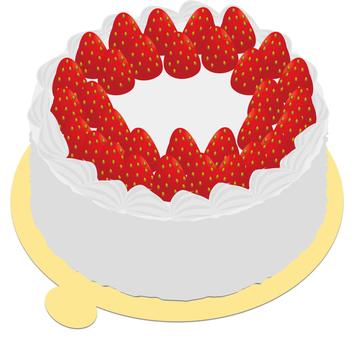 Strawberry cake (hall)