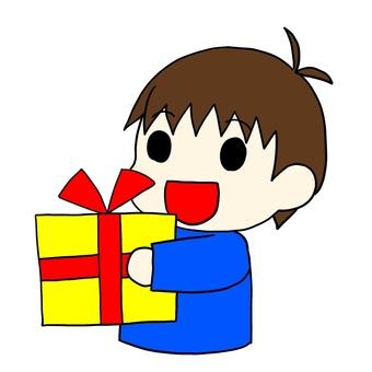 Present boy