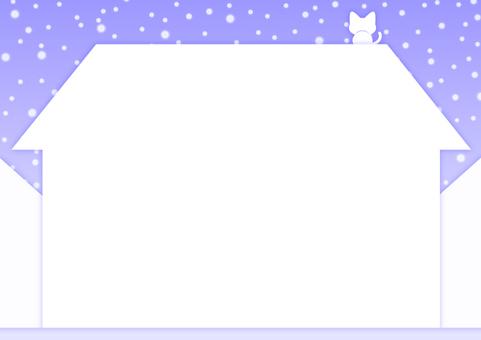 Winter · Home frame