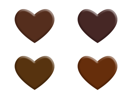 Heart's chocolate