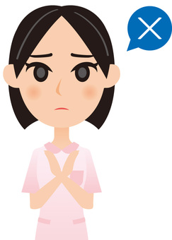 Working woman - nurse _ baht