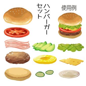 漢堡包將被合併