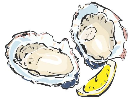 食品-牡蠣