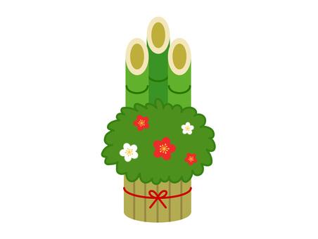 소나무 장식