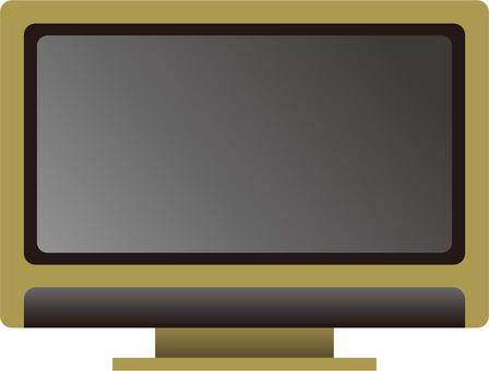 電視(黃色)
