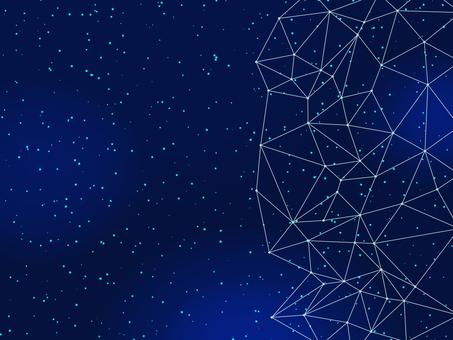 Universe, starry sky wallpaper material 02