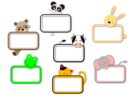 Animal's name card No 4
