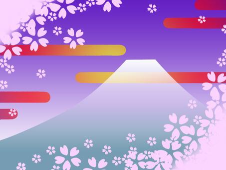 Fuji cherry tree