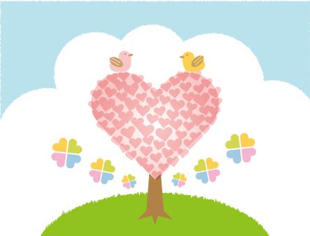 Heart tree 2