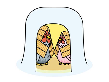 雪小雞在鎌倉