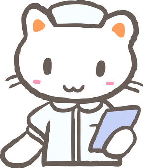 Nursing cat