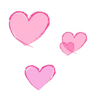 Hand-drawn wind heart