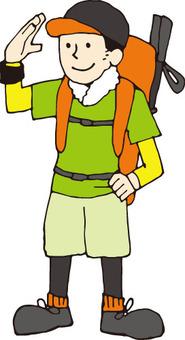 Mountain boy (summer)