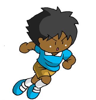 Runner Negro