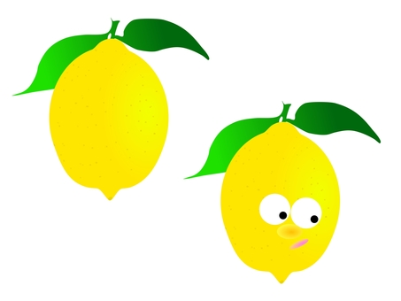 Anthropomorphization of lemon and lemon