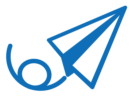 Pictogram (paper airplane)