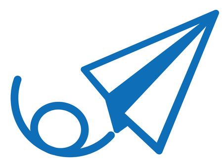 픽토그램 (종이 비행기)