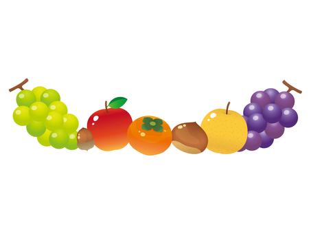 반들 반들 과일