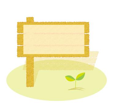 Bulletin Board Information Board Leaves