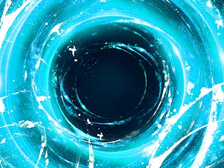 Shining circle blue
