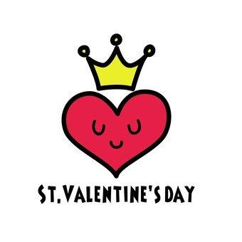 하트 왕관 발렌타인