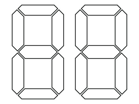 Digital number box