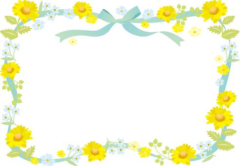 노란 꽃의 프레임 2