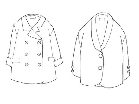 Winter coat (coloring)