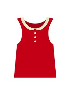 Blouse (red)