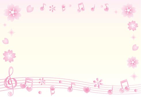 Cherry note frame