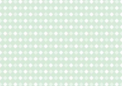 Rhombus background pattern green