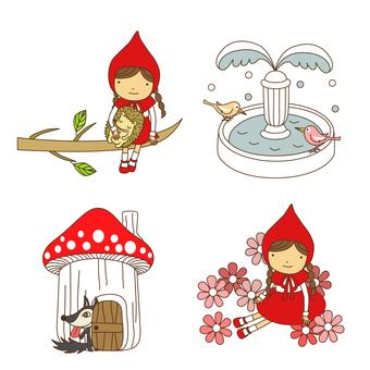 Little Red Riding Hood, Set · 05