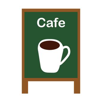 Cafe sign (profile image)