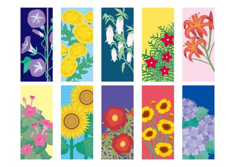 여름 꽃 01