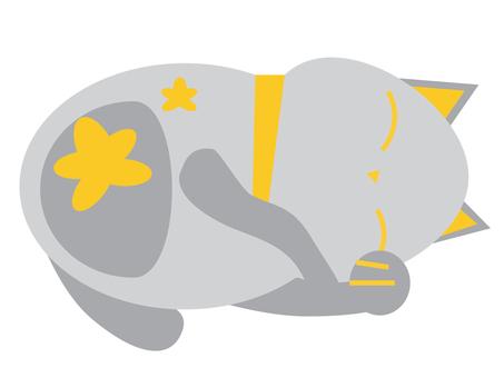Sleeping cat 3 1600 × 1200px
