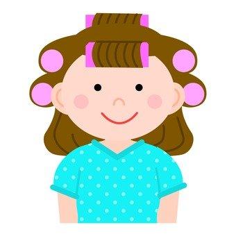 女性風的捲髮器2