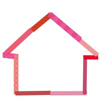 Home Frame Pink