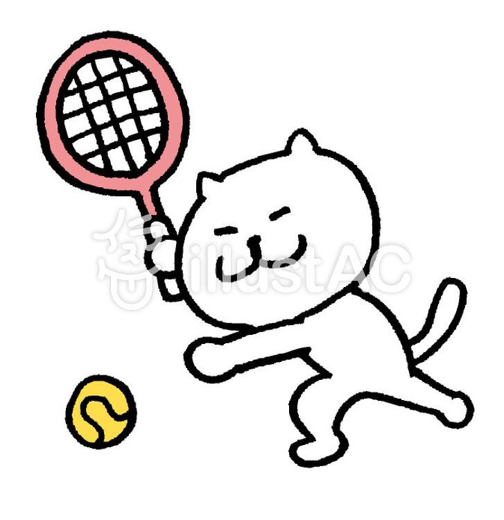 白 猫 テニス ダウンロード できない