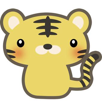 Tiger's illustration