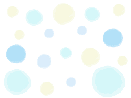 Watercolor style polka dot background material
