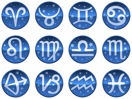 Twelve constellations set