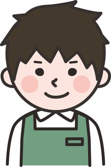 슈퍼 점원 08 (녹색)
