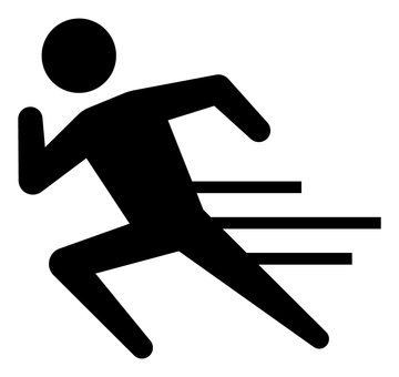 走る人 アイコン