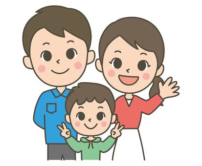 Family of three (boys)