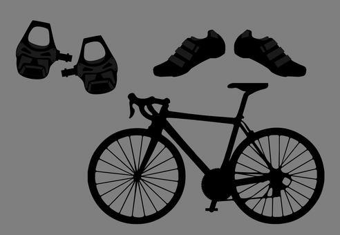 Road bike body