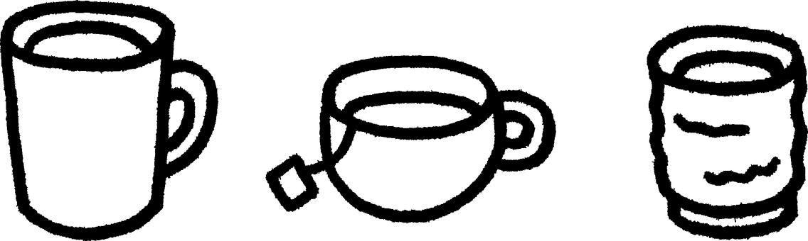 커피와 홍차와 녹차 1