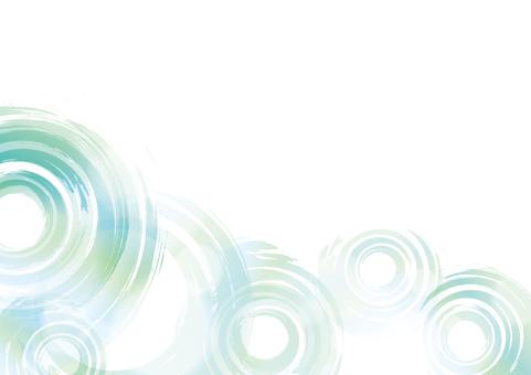 波紋の背景素材14