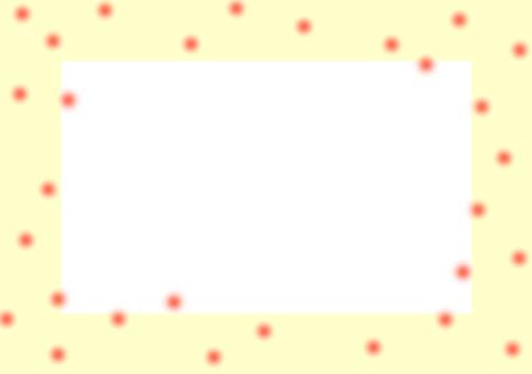 20% transparent frame yellow dot
